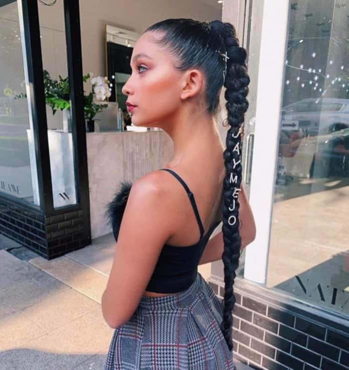 Stunning Curly Braided Hairstyles to Wear All Summer Long 5