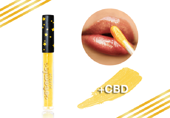 Summer-Products-You-Should-Pack-for-Your-Vacation-atomic-makeup-cbd-infused-lipstick-lipgloss