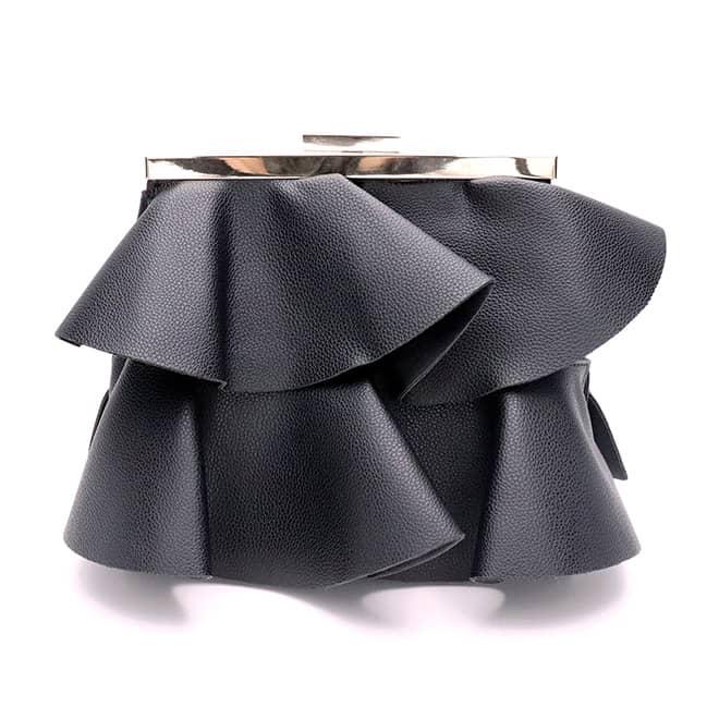 viva-glams-favorite-black-luxury-handbags-vegan-bags-pleat-clutch-by-chapter-bag