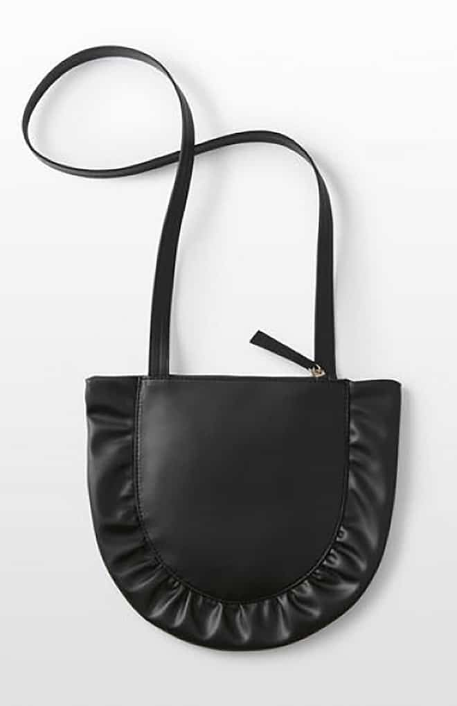 viva-glams-favorite-black-luxury-handbags-vegan-bags-ruffle-crossbody-onyx-from-hozen