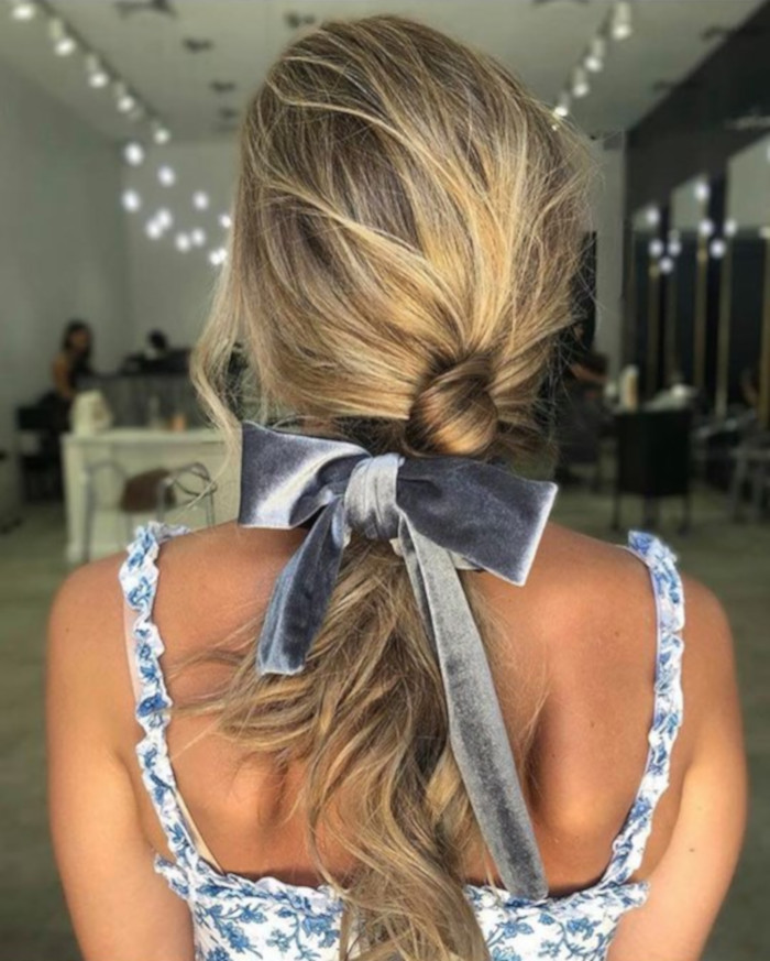 Hair Bows Are The Cutest Retro Trend of This Summer 6