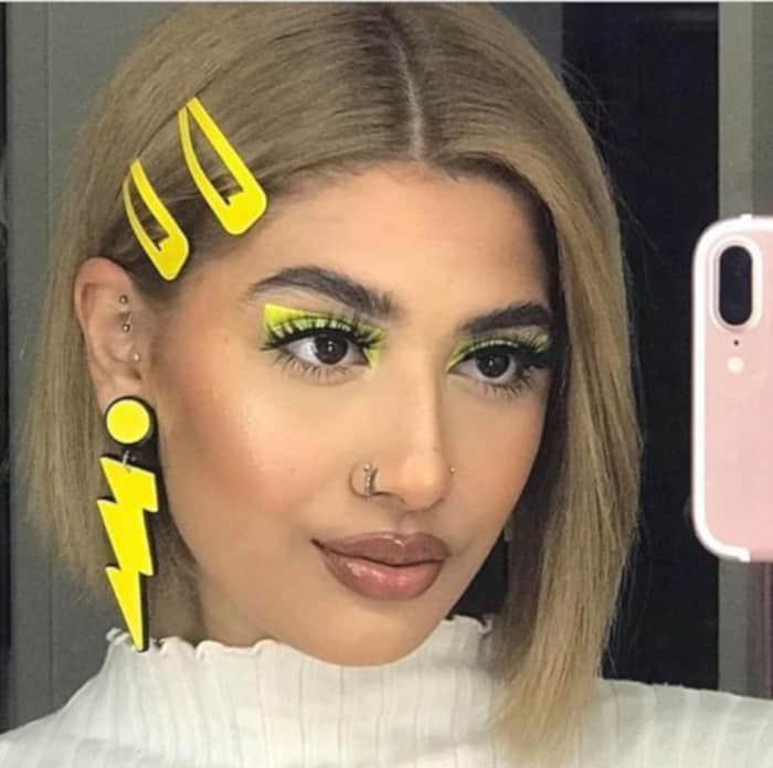 Neon Liner X Hot Ways to Wear Summers Biggest Makeup Trend