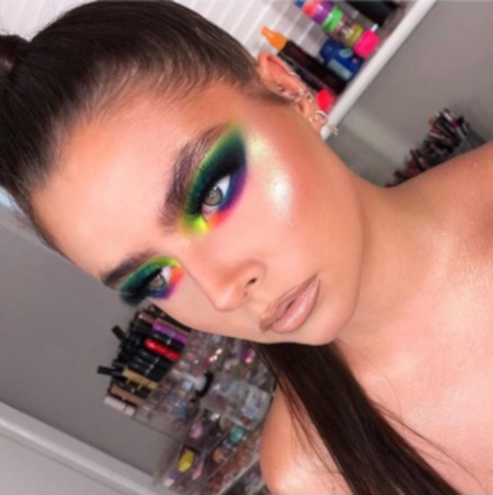 The Beauty Microtrends To Try This Summer Neon Makeup