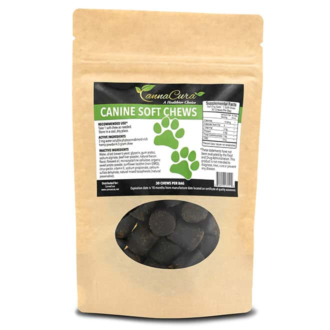 Three-CBD-Products-Every-Woman-Should-Carry-in-Her-Purse-canna-cura-cbd-dog-soft-chews