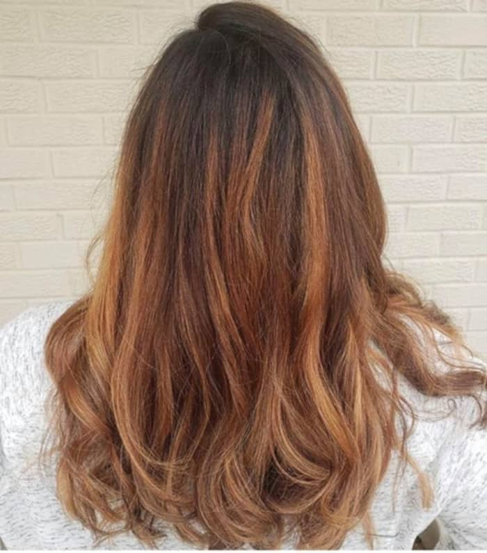 Caramel Mocha Balayage Is the Trendiest Transitional Hair Color To Try 1