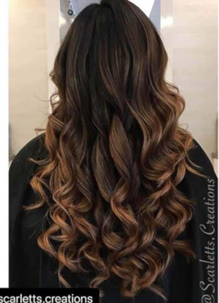 Caramel Mocha Balayage Is the Trendiest Transitional Hair Color To Try 5