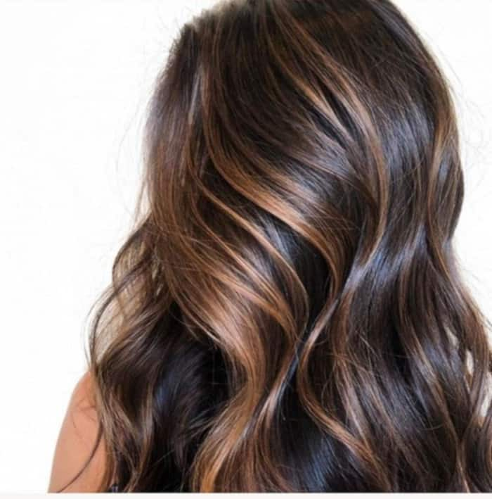 Caramel Mocha Balayage Is the Trendiest Transitional Hair Color To Try