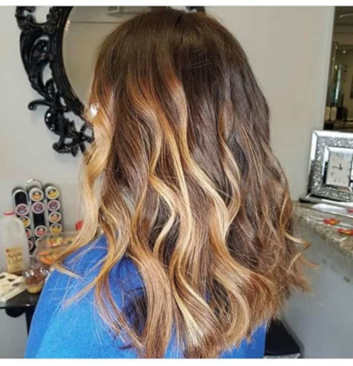 Caramel Mocha Balayage Is the Trendiest Transitional Hair Color To Try 8