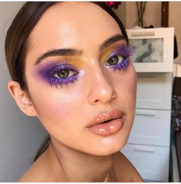 Color Blocking Summer Makeup 1