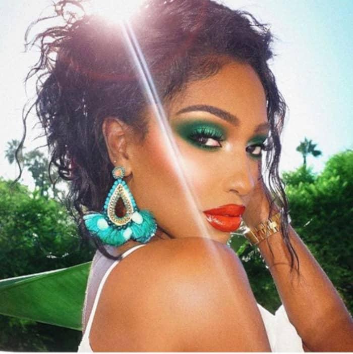 Color Blocking Summer Makeup 3