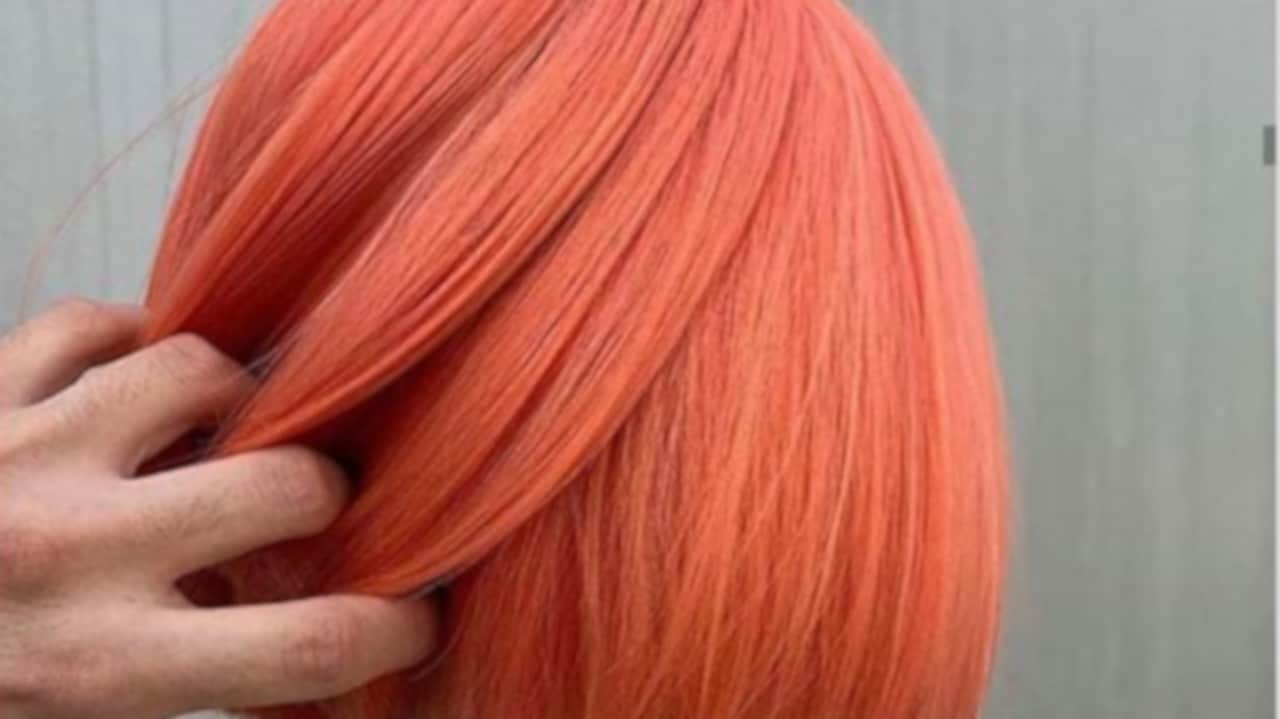 Living Coral Hair Color Trend 6