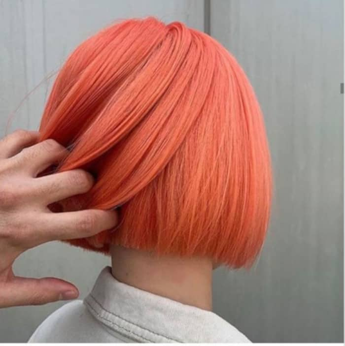 Living Coral Hair Color Trend