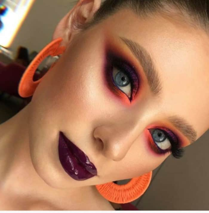 Orange Makeup Is The Summer Trend Thats Perfect for Fall