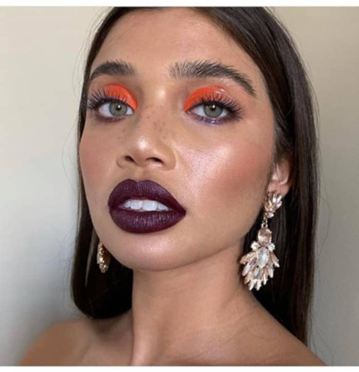 Orange Makeup Is The Summer Trend Thats Perfect for Fall 4