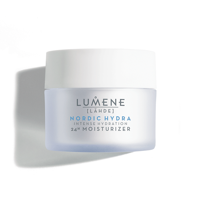 the-most-hydrating-skincare-products-lumene-nordic-hydra-24H-moisturizer