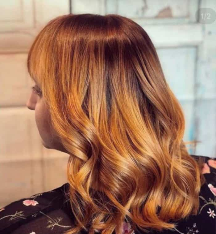 apple cider hair color fall trend