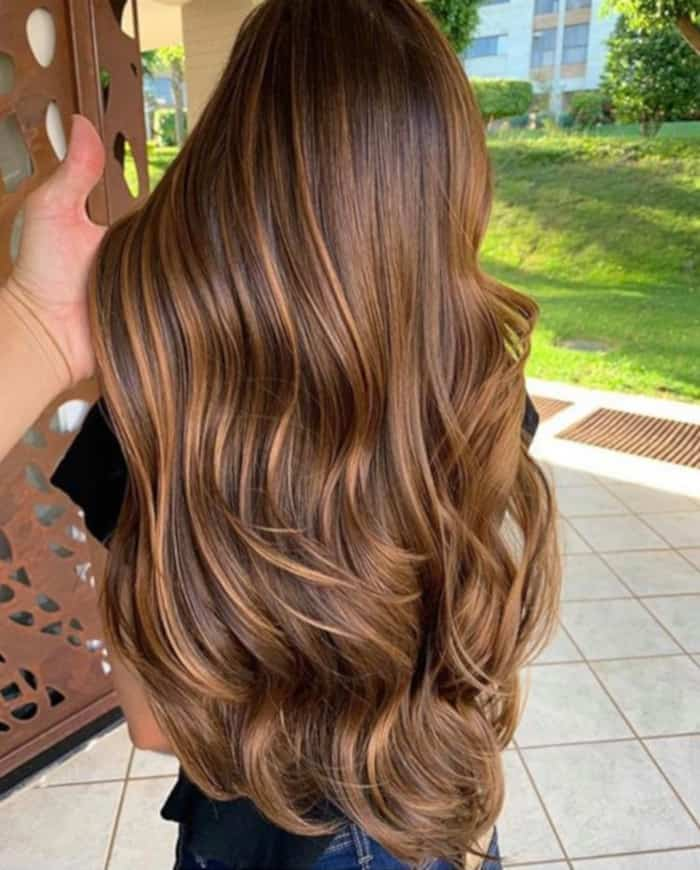 6 Breakout Brown Hair Color Trends to Try This Fall chestnut brown