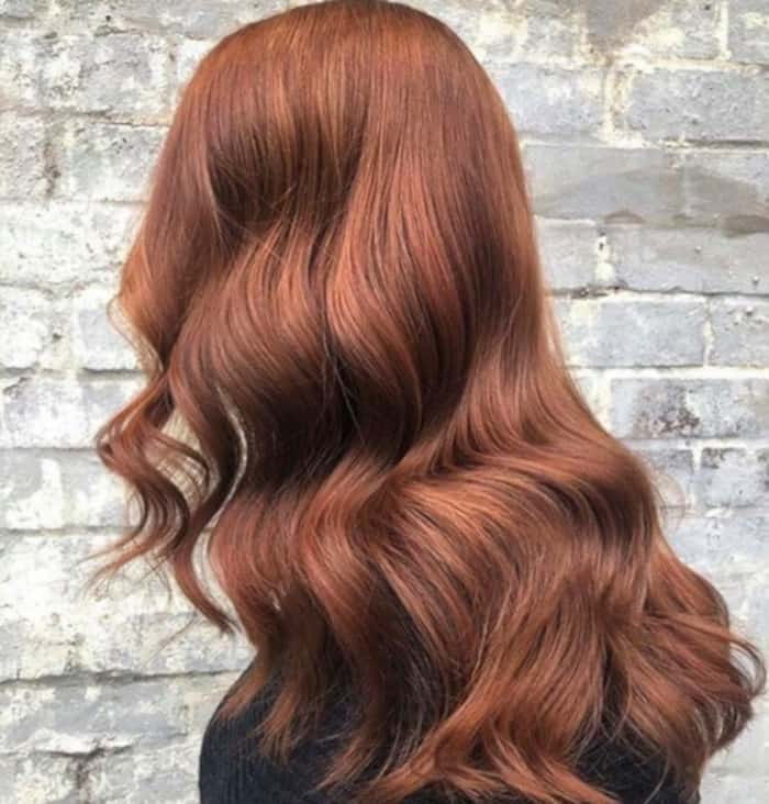 6 Breakout Brown Hair Color Trends to Try This Fall cinnamon brown hair