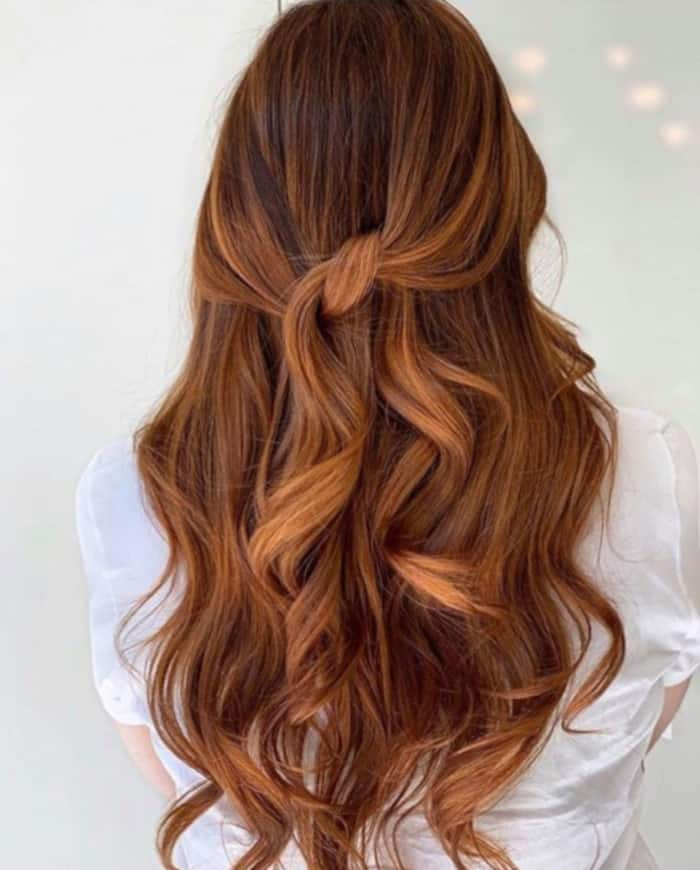 6 Breakout Brown Hair Color Trends to Try This Fall copper brown hair