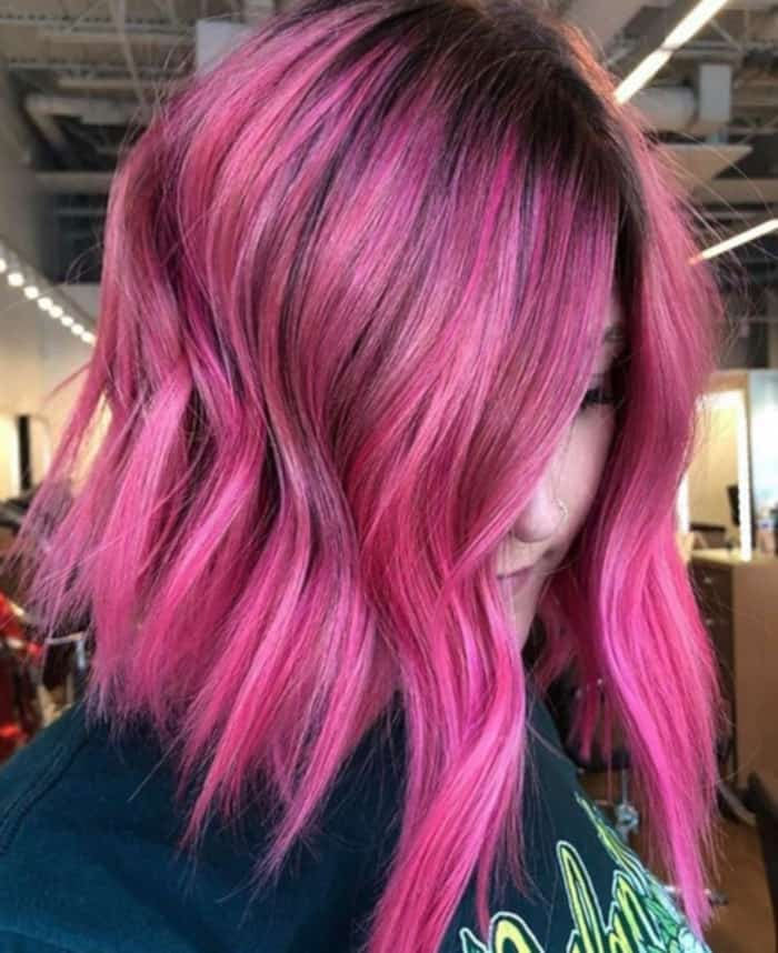 bright hair colors for fall 10