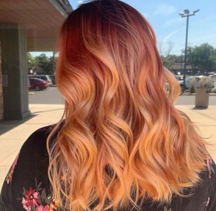 bright hair colors for fall 3