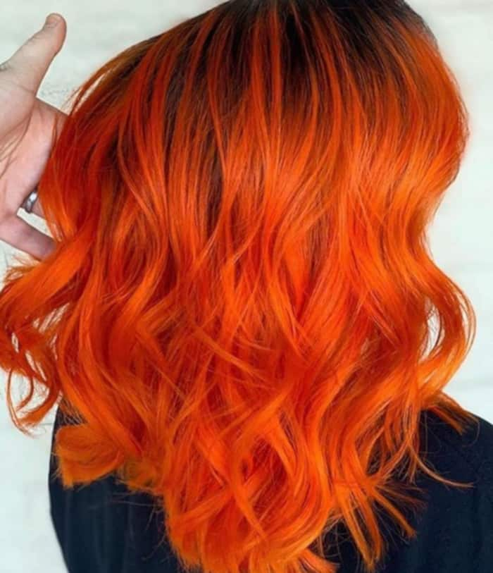 bright hair colors for fall 4