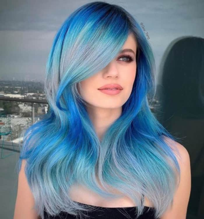bright hair colors for fall 7
