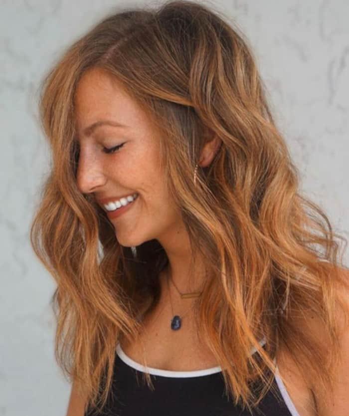 cinnamon spice fall hair trend 1