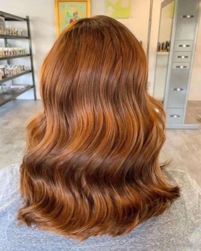 cinnamon spice fall hair trend 10