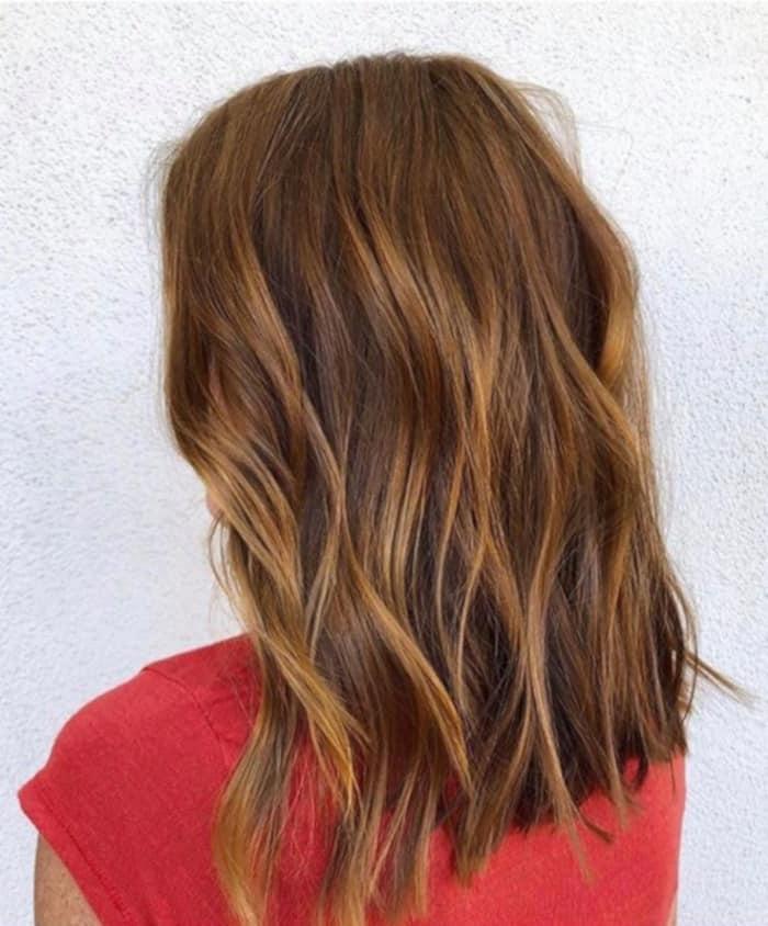 cinnamon spice fall hair trend 4