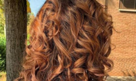 cinnamon spice fall hair trend 8