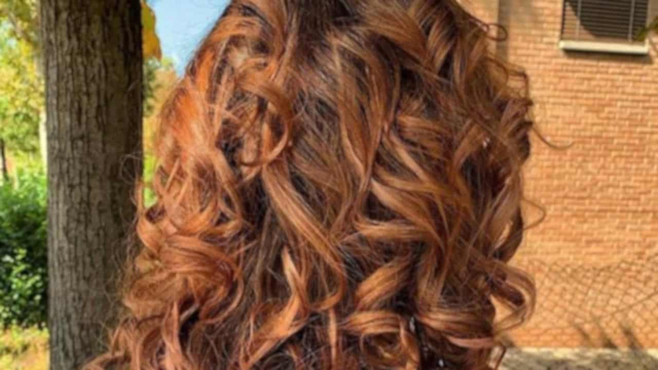 cinnamon spice fall hair trend 8