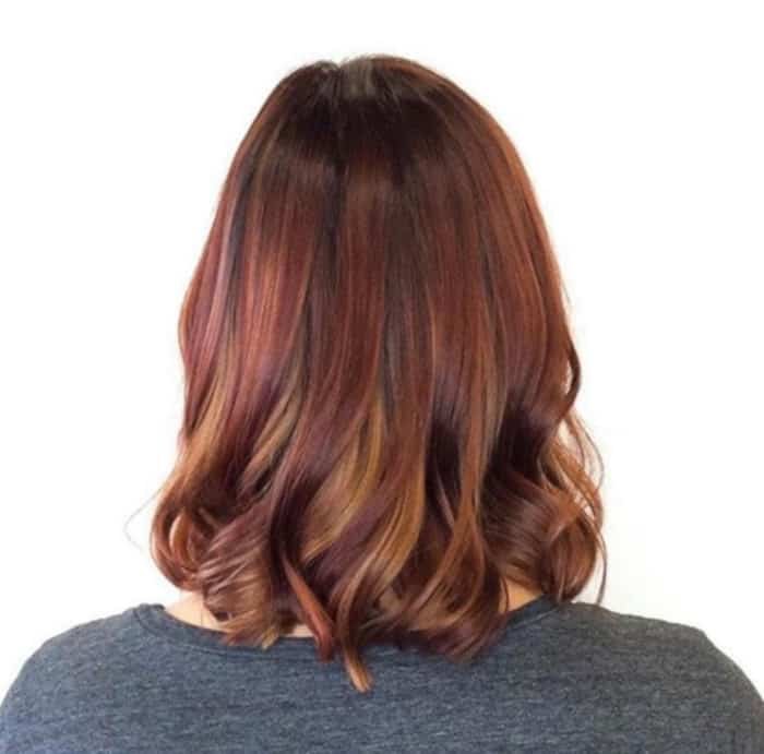 cinnamon spice fall hair trend 9