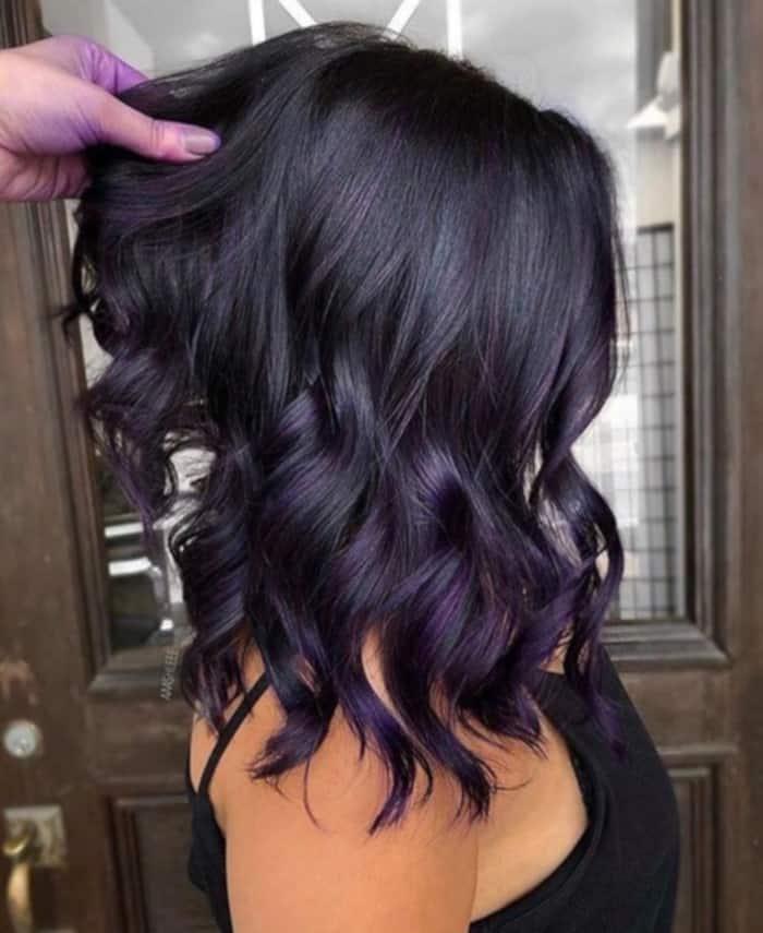 dark hair colors for fall 9