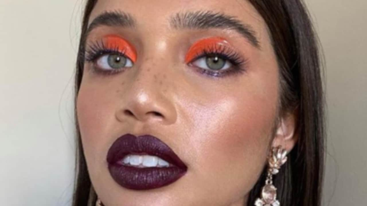 neon makeup looks for fall 4