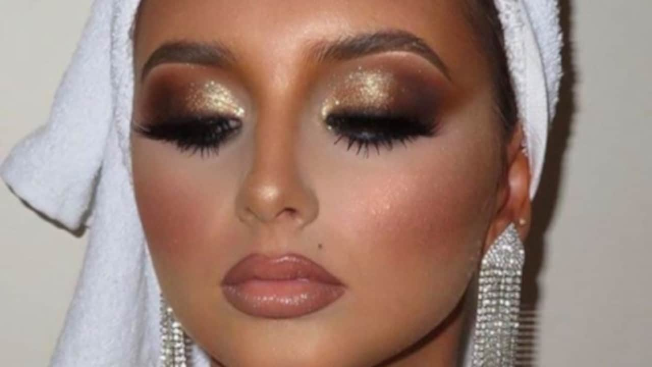 party fall makeup looks 1
