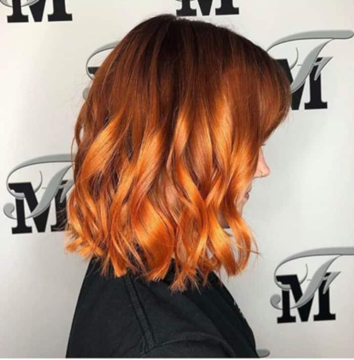 pumpkin hair halloween trend 2