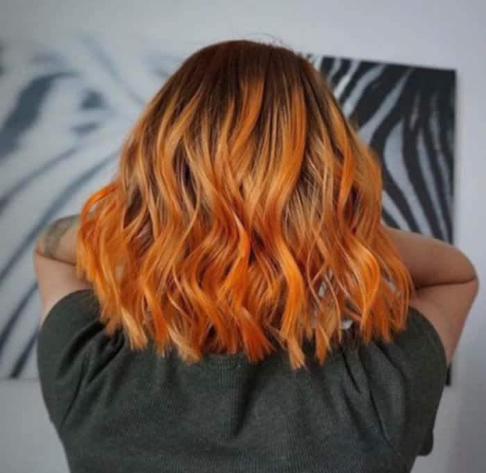 pumpkin hair halloween trend 4