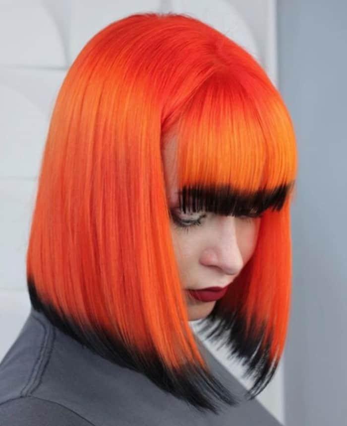 pumpkin hair halloween trend 6