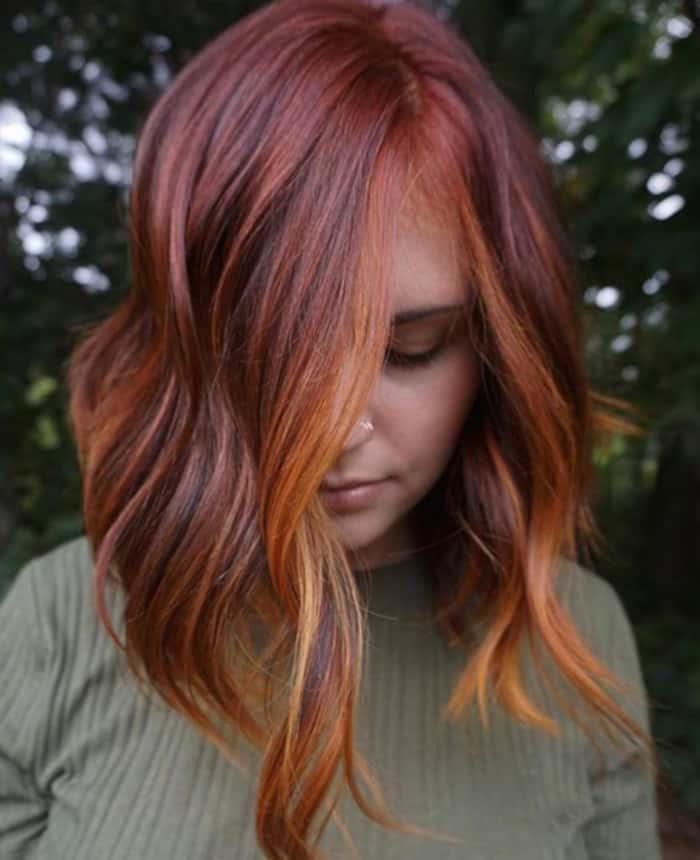 pumpkin hair halloween trend 7