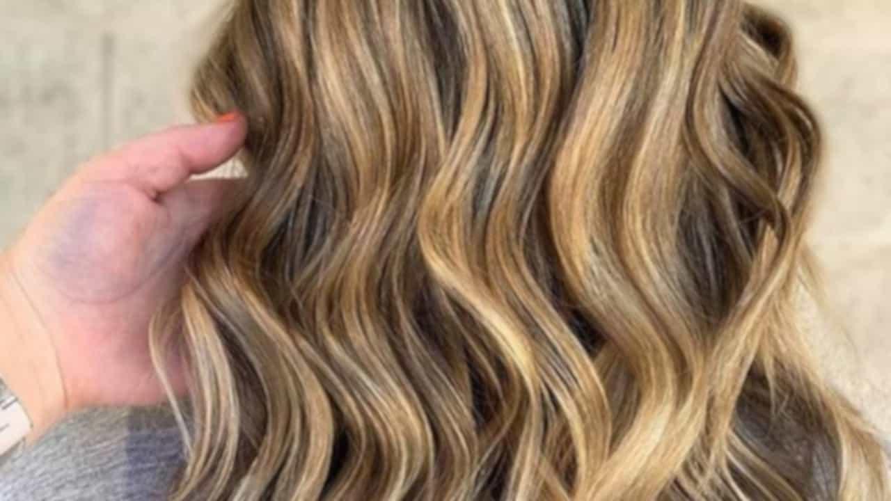 tweed balayage hair color trend 5