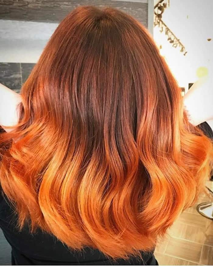 best ombre hair color ideas for winter