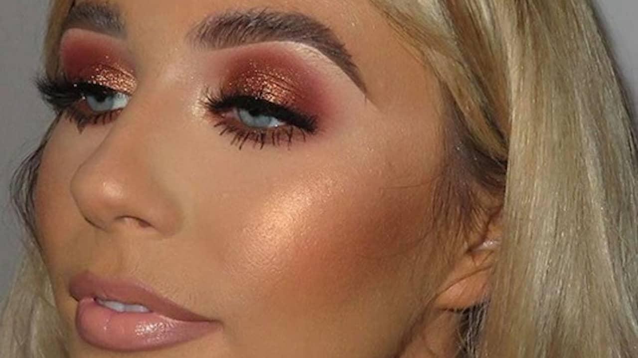 wearable glitter makeup looks 2