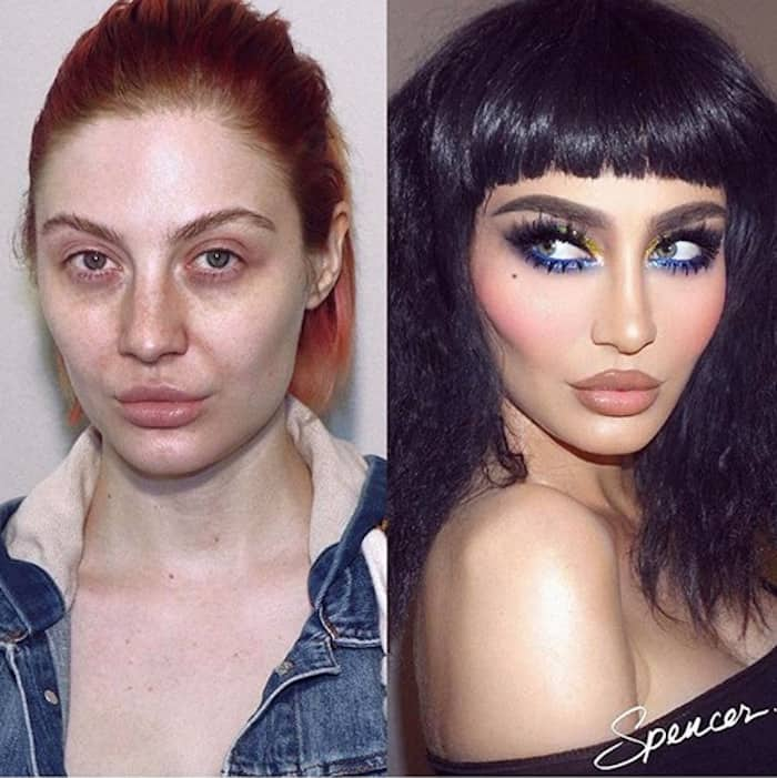 best beauty transformations painted by spencer 8