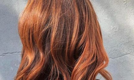Chocolate Orange Hair Trend
