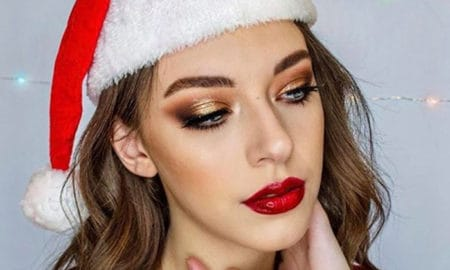 christmas makeup looks