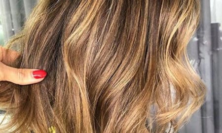 smoky gold hair trend