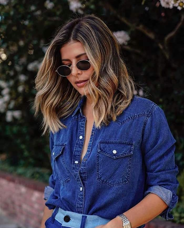 smoky gold hair trend 4