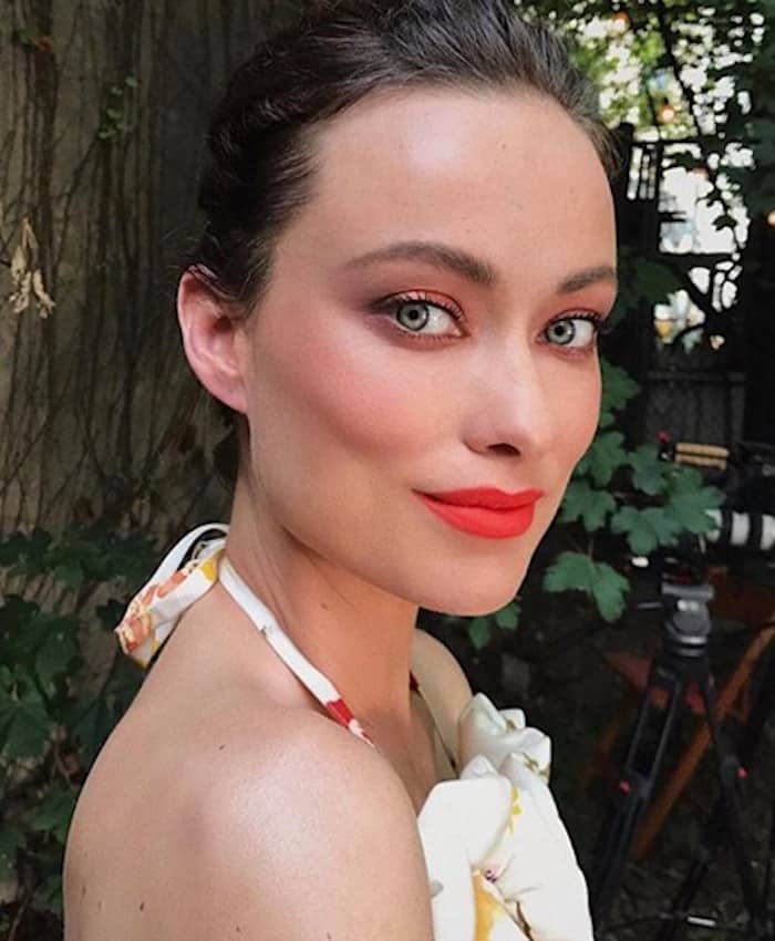 bold lip celebrity makeup