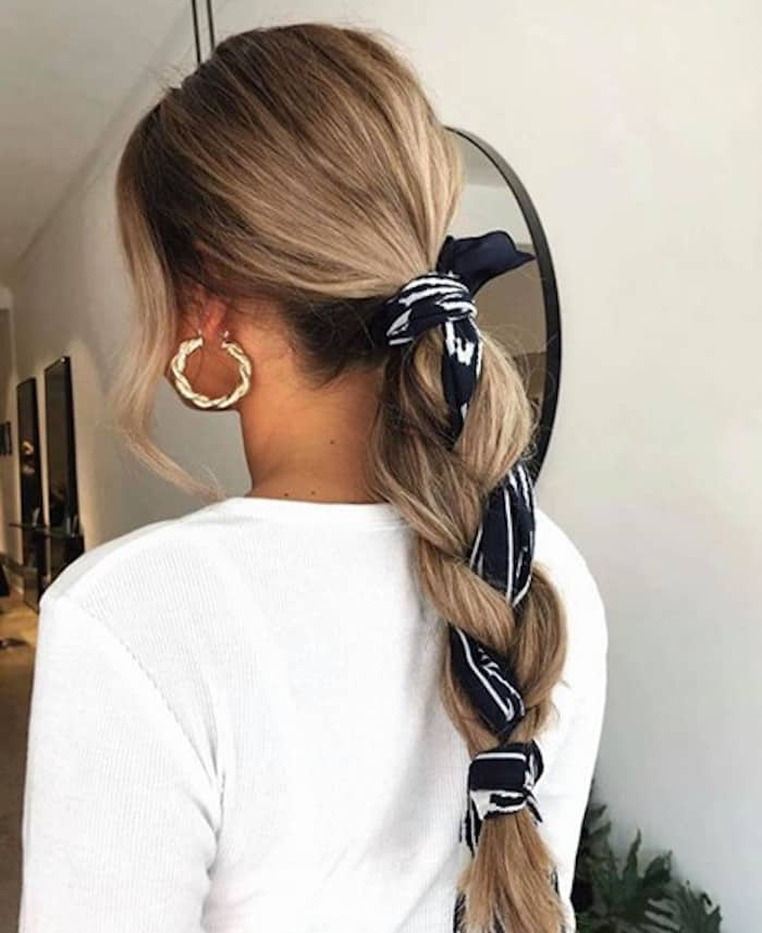 cute hairstyles you can do in under 5 minutes 10
